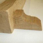 Oak Beam With Corbels