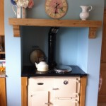 Oak Beam Above AGA