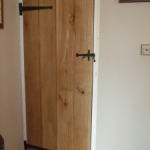 Oak Ledged Door