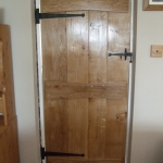 Door With Dovetailed Ledges