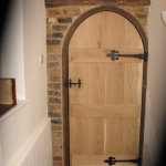 Arched Door Bevelled Ledges