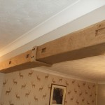 Kiln Dried Board Cover With An Oak U Shaped Joint Cover