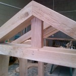 Oak Porch Frame