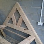 Oak Porch Truss